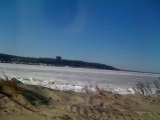 Ice on the ocean