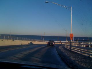 To the Jersey Shore on a cold February Sunday