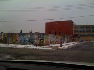 Graffiti in Red Hook