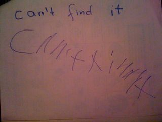 Can't find it by Charlie
