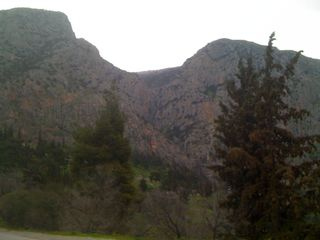 Mountains in Delphi