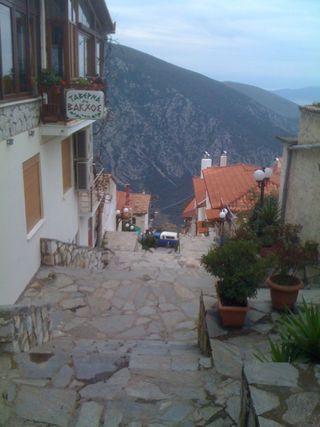 Stone steps in Delphi