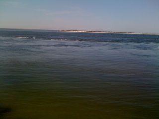 The beautiful beautiful blue of the ocean