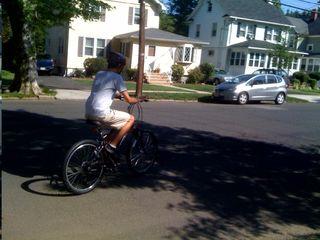 Charlie rides again