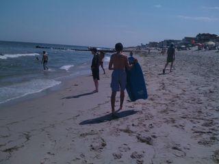 Charlie in his ocean territory