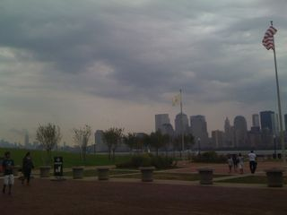 View of lower Manhattan from Liberty State Park in Jersey City
