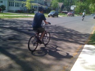 Boys on bikes; I'm off to Jersey City