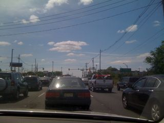 New Jersey traffic, state highway style
