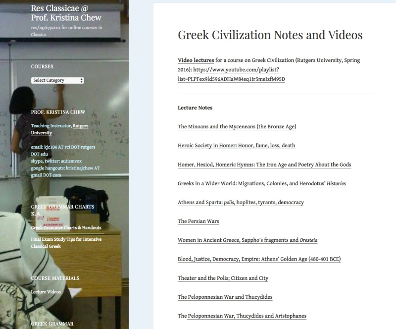 Greekcivvideosnotes