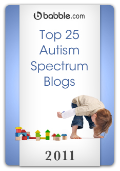 Babble 2011 Top 25 Autism Spectrum Blogs