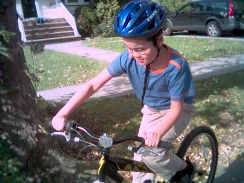 Autumn sunshine rider